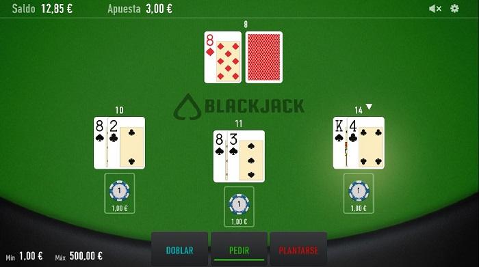 Blackjack Online de Relax en VeoWin