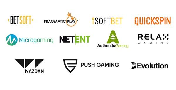 Proveedores de juegos de tragamonedas en línea